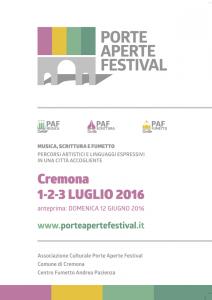 Porte Aperte Festival - Locandina