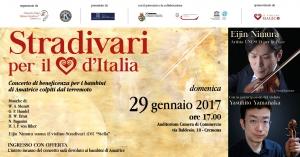Concerto Stradivari per il Cuore d'Italia